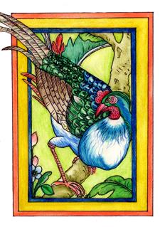 Peafowl - JMD07 $4