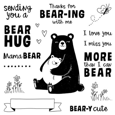 July Stamp of the Month – Bear Hugs