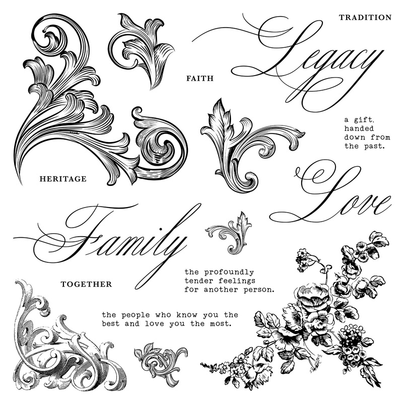 Family Legacy Stamp of the Month