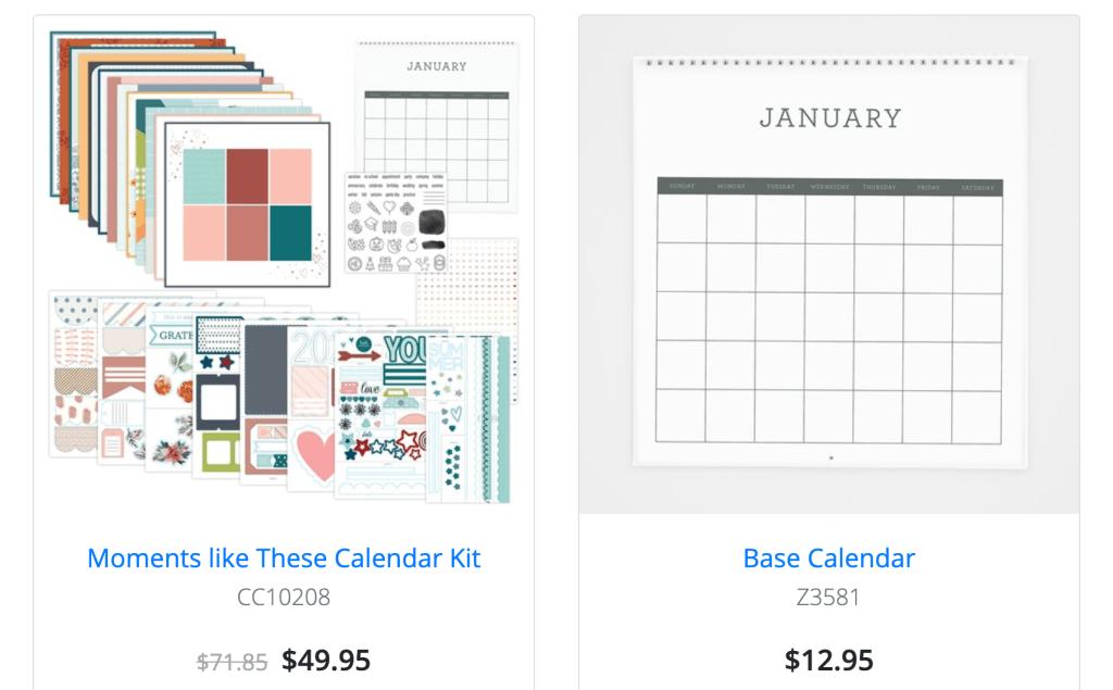 Calendar Kit - Moments Like These