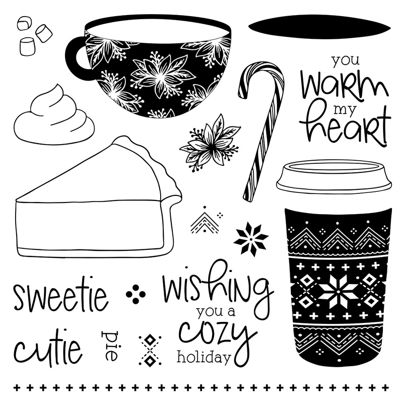 You Warm My Heart - Stamp of the Month