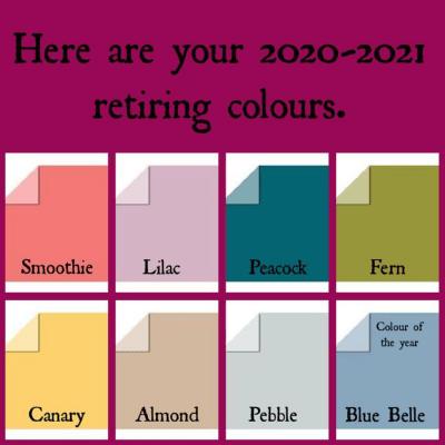 2021 Retiring Colors