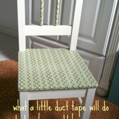 Stool Chair Big W Modern Conference Room Chairs Tweak It With Duct Tape. A Child's Transformed | Living Out Loud
