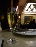 Ketsent (champagne and absinthe) at Cafe Slavia