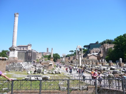 Looking over the Forum
