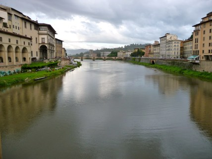 Overlooking the Arno
