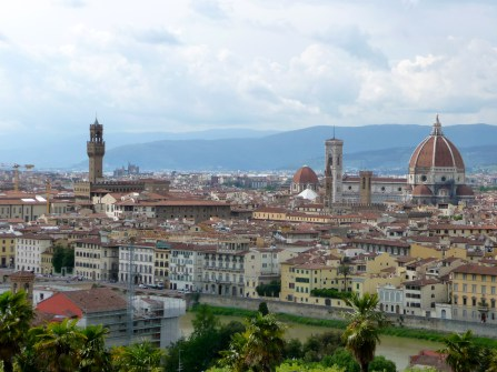 Another View from Piazza Michelangelo