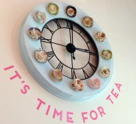 A Clock of Cups