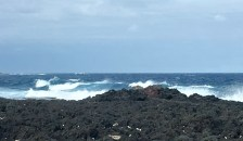 Lava and waves