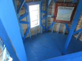 Inside of the lighthouse