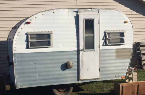 An Update On My Vintage Camper Renovation -Tackling