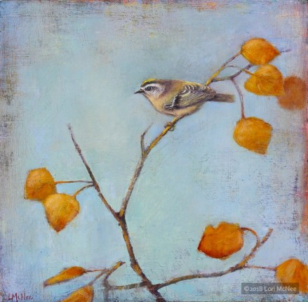 ©2016 Lori McNee Autumn Day 12x12 Oil on panel