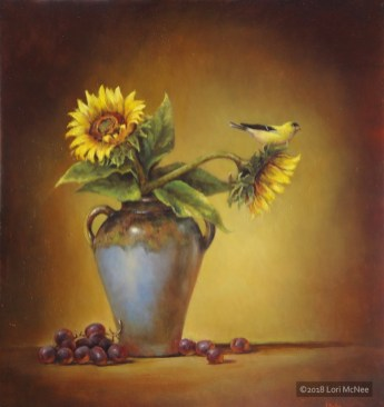 ©2010 Lori McNee Memories of Summer 30x28 Oil on panel