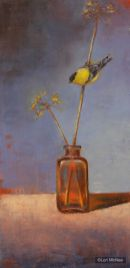©2011 Lori McNee Gold and Amber 24x12 Oil on panel