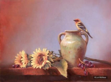 ©2011 Lori McNee Western Summer 24x30 Oil on panel