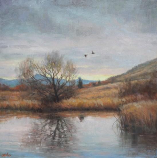 ©2019 Silver Creek Sunrise 24x24 oil on linen