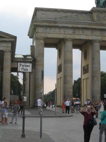 Pariser Platz has the Brandenburg Gate