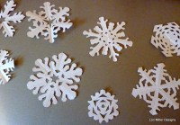 Stitch a Paper Snowflake Garland (free downloadable ...