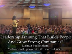 Leadership Training With Lorinda Buckingham
