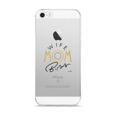 Wife Mom Boss Customized iPhone Case (6, 7, 8, X)