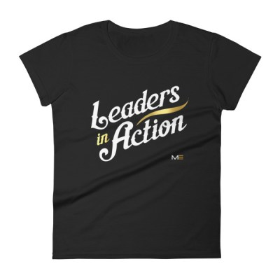 Leaders In Action Womens short sleeve t-shirt