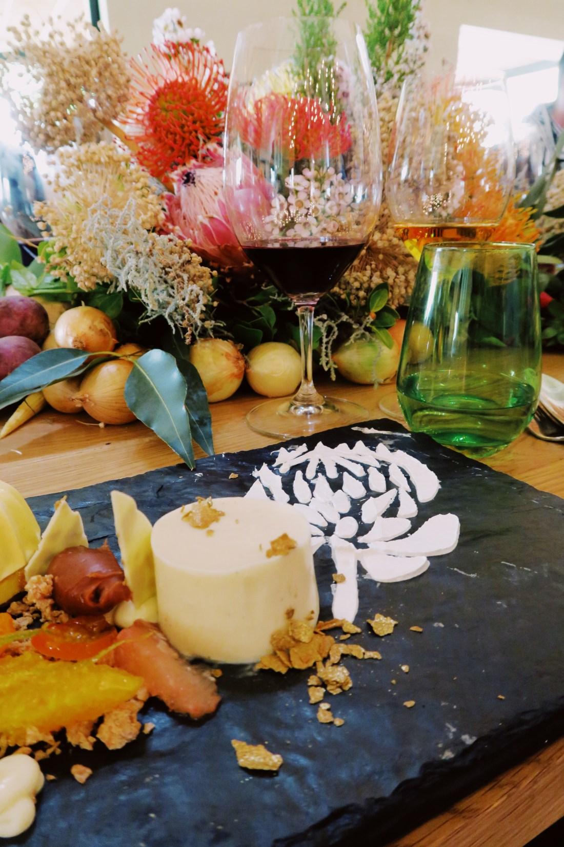 Fynbos-inspired modern Cape Winelands luncheon at La Motte