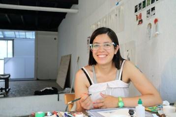 Teresa Currera is a Columbian artist.