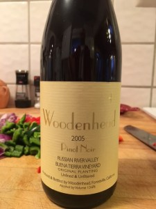 Woodenhead 2005 Pinot Noir, Russian River Valley, Buena Tierra Vineyard