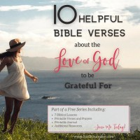 10 Helpful Bible Verses About the Love of God to Be Grateful For