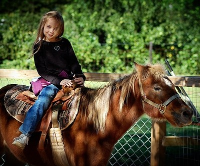 First Pony Ride