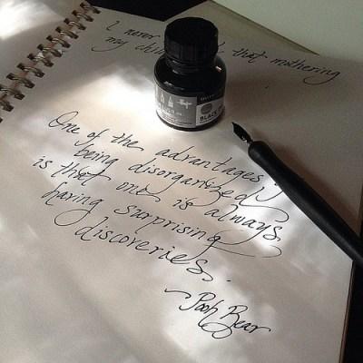 Pen & Ink & Pooh Bear