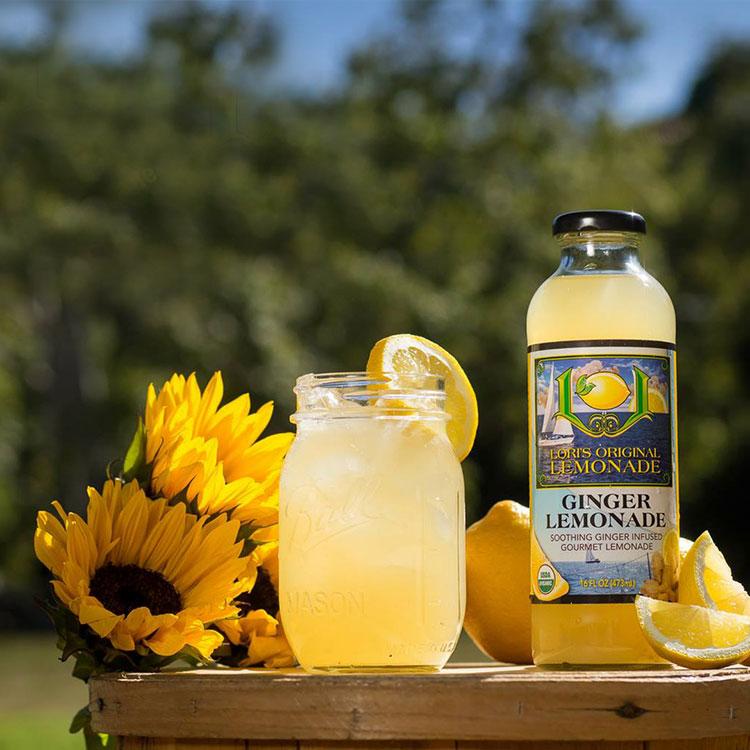 ginger lemonade Lori's Original Lemonade, Award-Winning, Organic, Natural