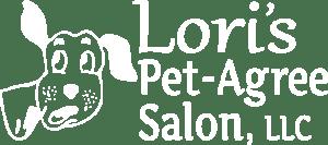 Lori's Pet-Agree Salon Logo