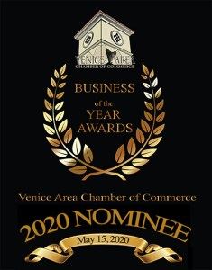 Lori Stephens LLC Nominated for Business of the Year by The Venice Chamber of Commerce