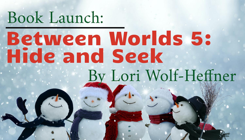 Image of joyful snowmen. For Lori Wolf-Heffner's book launch in Waterloo. November 25, 2019.