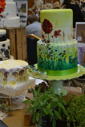 Standard that i required fresh herbs alongside my cakes, They enjoyed the day out!