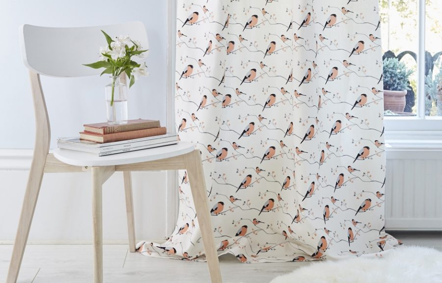 Bullfinch Fabric For Curtains Blinds And Upholstery By Lorna Syson