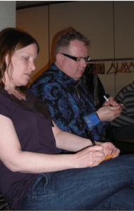 Scott & Belinda Words for  wordle Winn April 14
