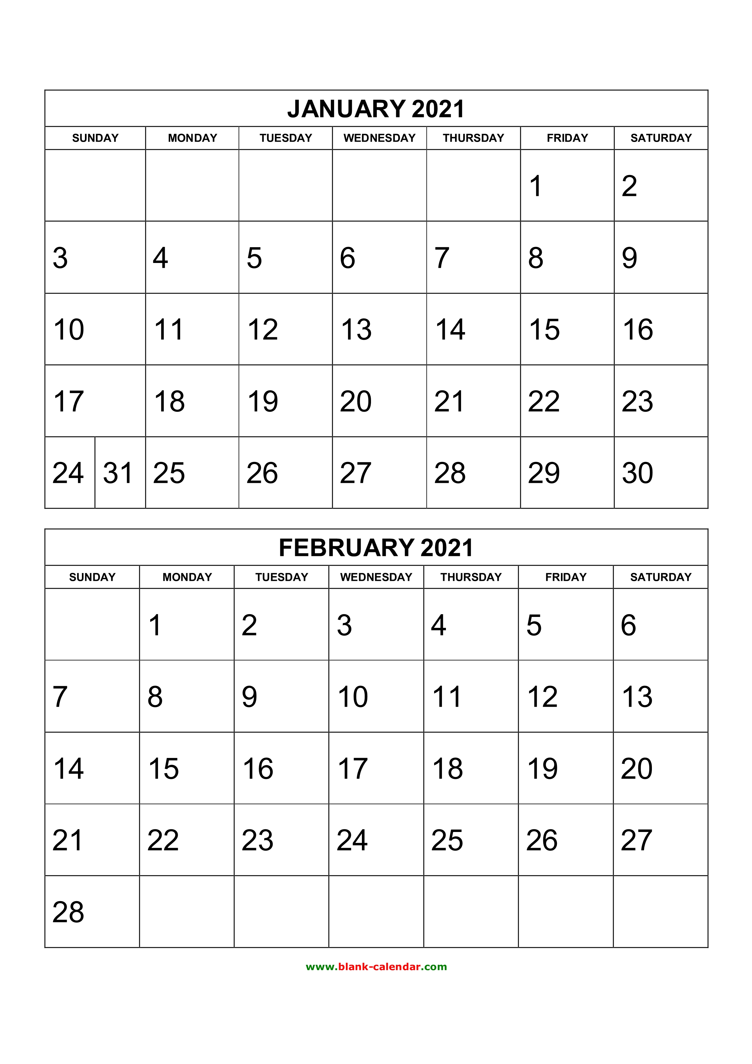 If you haven't done so already, it's time to update last year's custom photo calendar. Free Printable 2020 Two Months Per Page Calendars ...