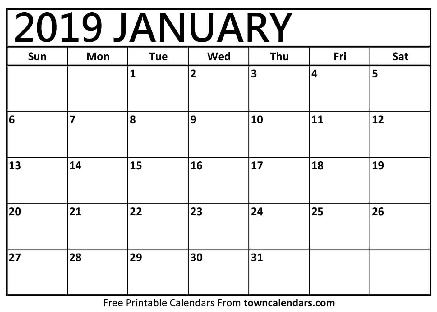 Free Calendar Template Printable 201