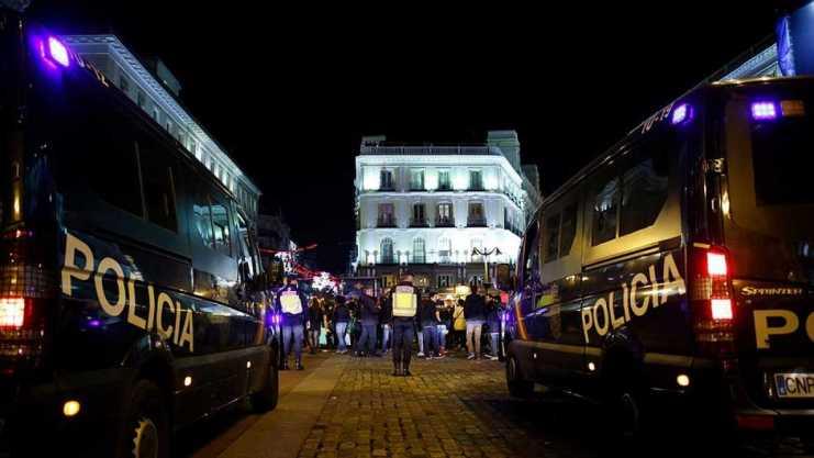 CONTROL POLICIAL DEL AFORO EN BILBAO