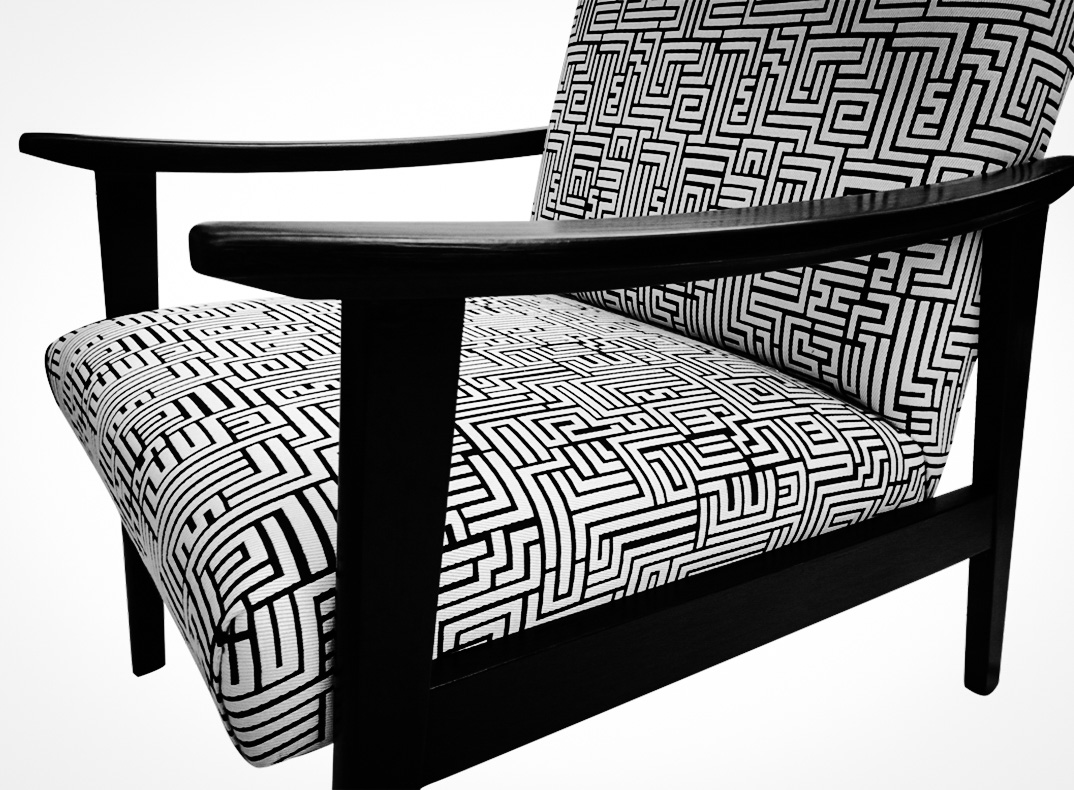 Black White Chair Black And White Telly Chairs Lorraine Osborne
