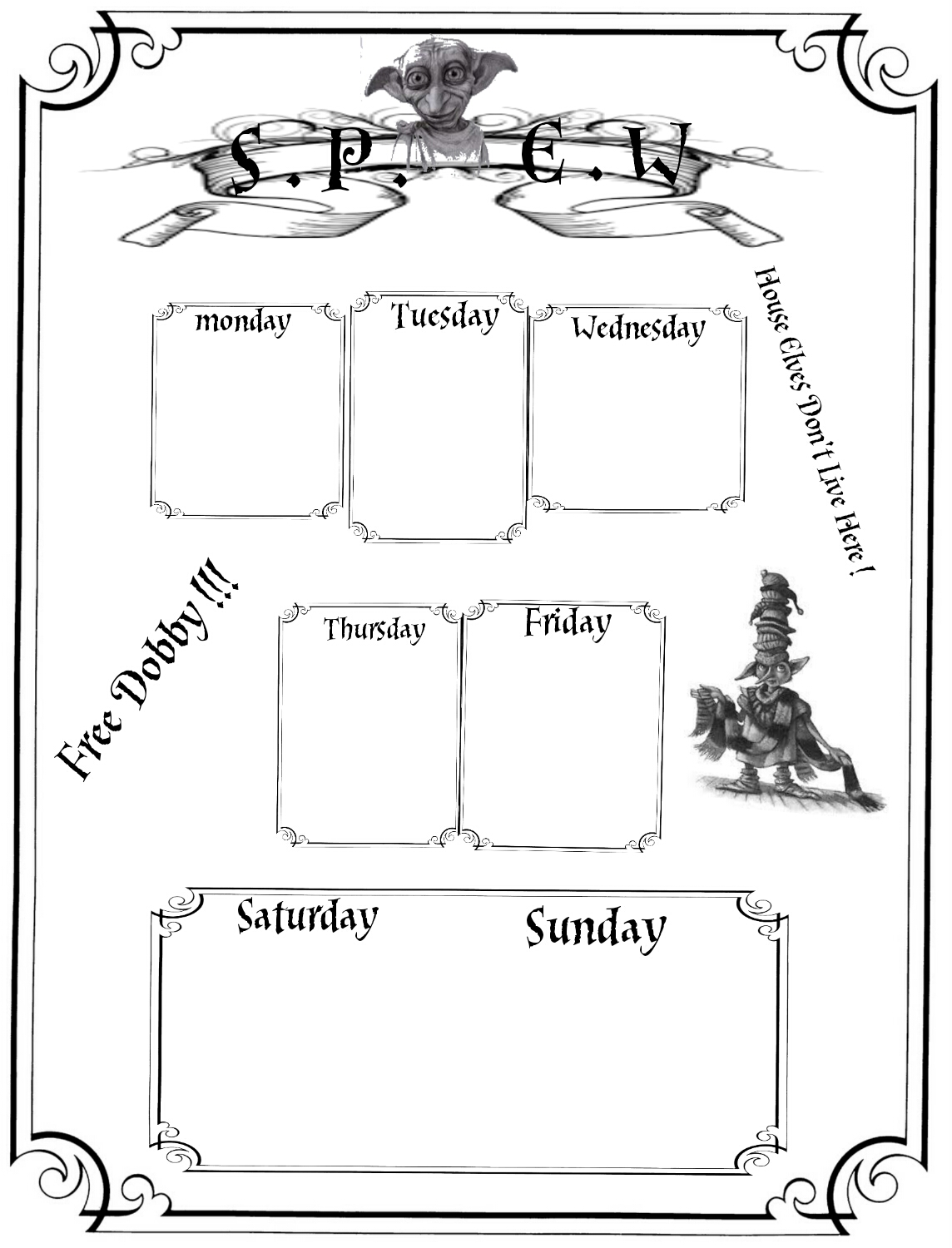 Harry Potter Planner Printables Free Lorraine A Life Less Ordinary