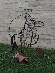 Metal sculpture