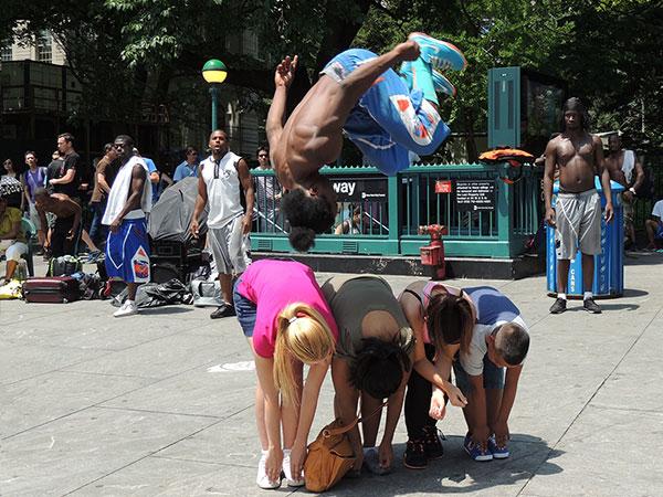 New York Street Performer