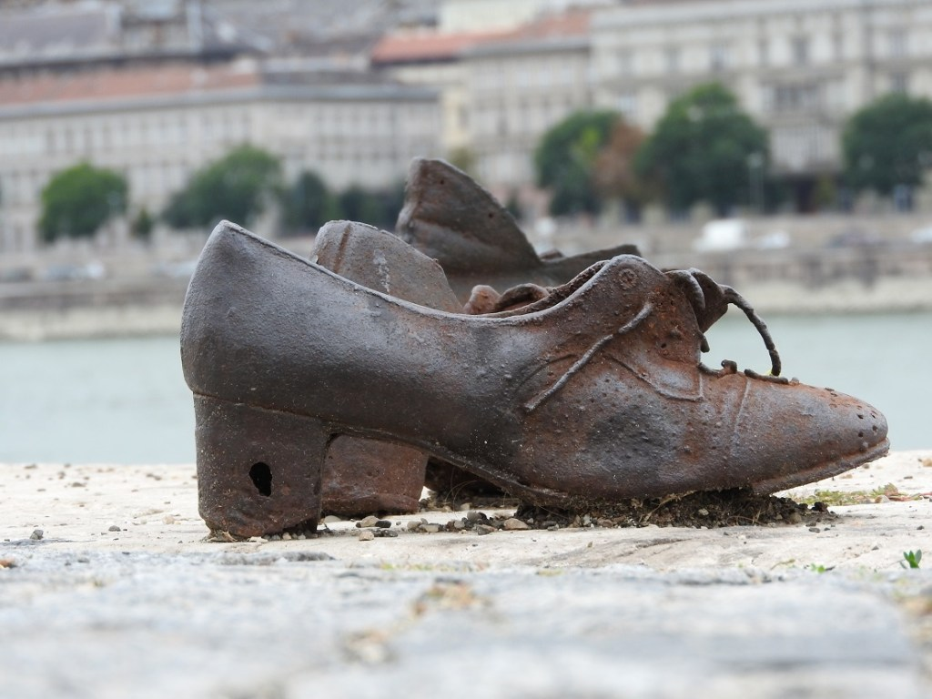 The shoes of Budapest