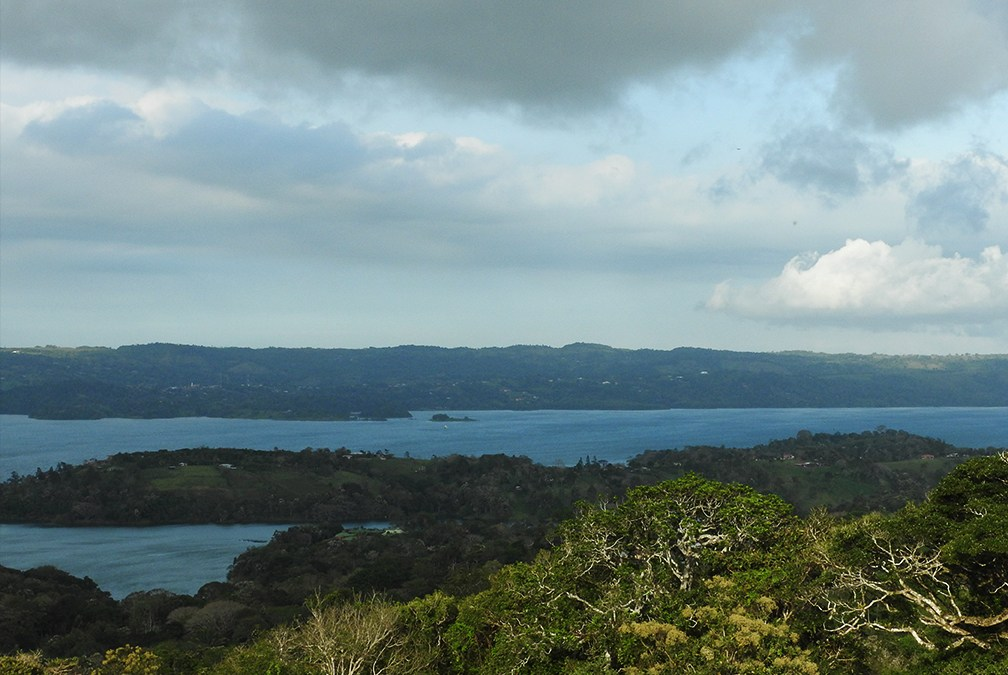 First View of Lake Arenal
