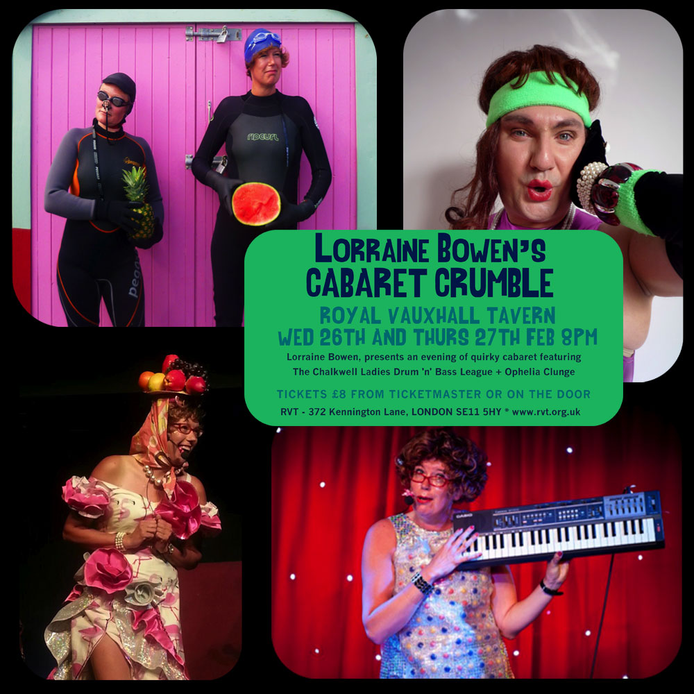 Lorrain Bowen's Cabaret Crumble