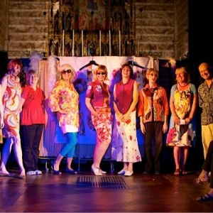 Polyester Fiesta at Brighton Fringe Fest - St Michaels Church