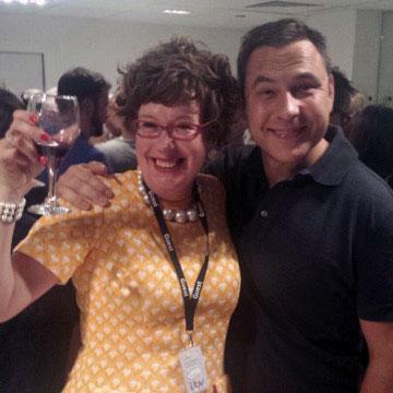 Lorraine Bowen + David Walliams